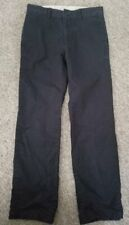 Gap Kids Black Chino Pants Boys Size 10 Adjustable Waist