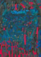 John Cherrington (1931-2015) - 1983 Oil, Surrealist Abstract Portrait