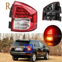 Right Side Rear Tail Light Stop Fog Lamp Assembly For Jeep Compass 2011-2014 RH