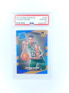 Donruss Basketball - JAYSON TATUM #198 Rated Rookie RC PSA 10 Gem Mint