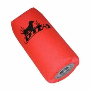"D.T. Systems 6"" Super-Pro Dog Training Launcher Dummy, Blaze Orange (88109)"