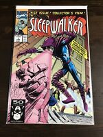 Sleepwalker #1 1st Appearance/Issue Marvel Comics Direct June 1991 VF/NM Unread