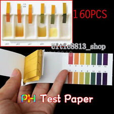 PH Tester x 160 Strips Litmus Paper Testing Urine Saliva Acid Alkaline Diet Test