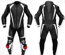SPORTS-Motorcycle/Motorbike Cowhide Leather Suit Racing Titanium Armour-UNISEX