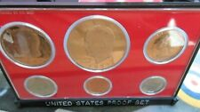 More details for usa proof 6 coin set 1977 sanfasico mint moon landing $1 dollar - cent us mint