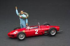 Exoto XS   1:18   1961 Ferrari Dino 156/120 - Phil Hill Figurine   # GPC97204F2