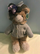 "Bearington Bears ""Miss Kitty Dupaw"" 16"" Plush Cat- #1970- Nwt- 2003"