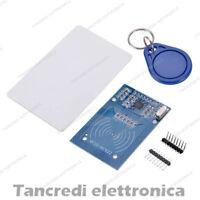 MODULO LETTORE RC522 RFID TAG CARD TAG PORTACHIAVE MFRC (Arduino-Compatibile)