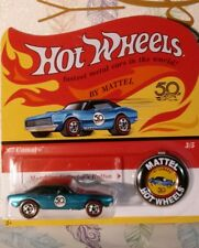 HOT WHEELS 1/64 2018 50th ANNIVERSARY 1967 CAMARO REDLINERS NEW