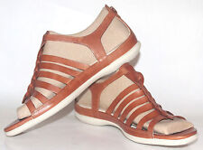 Women's Shoes ECCO 'Flash' Fisherman Sandals Leather Size 11 US NEW