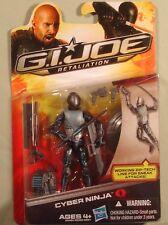 G.I. Joe Retaliation Cyber Ninja 2012 copyright new in package