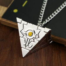Yugioh Pyramid Necklace In Silver Color New Rare Limited Rare Cosplay Yugi
