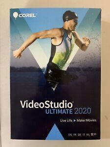 Corel VideoStudio Ultimate 2020 BRAND NEW SEALED RETAIL VERSION