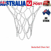 Basketball Metal Net Netting Chain Mesh Goal Hoop 12 Loops Replacement AU VIC