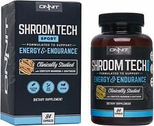 Onnit Shroom TECH Sport: Clinically Studied Preworkout Supplement with Cordyceps