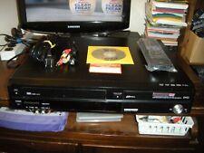 New listing Panasonic Dmr-Ez37V Dvd/Vcr Combo Recorder Complete with Digital Turner