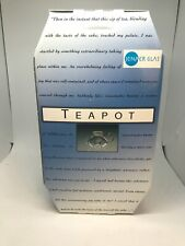 Jenaer Glass Teekanne Teapot 1.0 With Infuser and Lid NEW IN BOX  Wagenfeld
