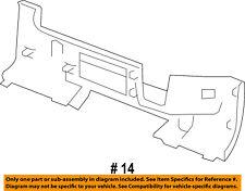 GM OEM Rear Bumper-Step Pad Protector Scratch Guard Cover 15284310