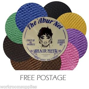 2 x SLUMBER SLEEP-IN HAIR NET - 9 Colours - FREE P&P VISCOES QUALITY NETS