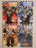 Human Target 1999 Peter Milligan 1 2 3 4 DC Vertigo Set Series Run Lot 1-4 VF/NM