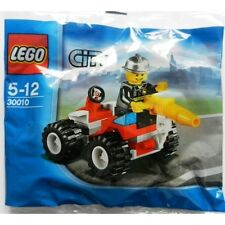 Lego City Town Set 30010 Fire Chief Buggy Quad Bike Helmet Limited Release NISB
