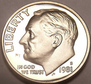 1981-S PROOF ROOSEVELT DIME~GREAT PRICE