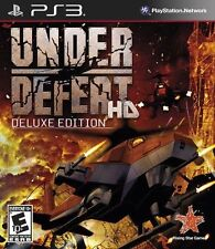 Under Defeat HD Deluxe Edition | PS3 | USA NTSC version | New & Factory Sealed