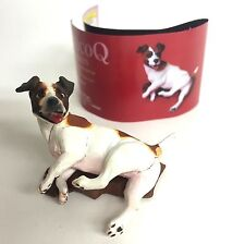 Choco Q Mini Figure Dog Jack Russell terrier Tricolor Kaiyodo Japan choco egg