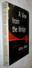 ARTHUR MILLER A View from the Bridge Two one-act plays 1955 Inscribed 1st ED