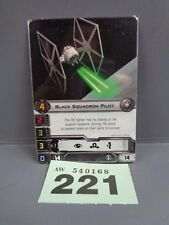 Wargaming X Wing Alt Art Promo 2013 Black Squadron Pilot Card 221