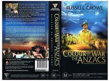 COLOUR OF WAR: THE ANZACS, {2004}  *RARE VHS TAPE*