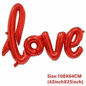 Groom Bride Love Balloon Bachelorette Party Wedding Decoration Mr And Mrs Bridal