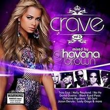CRAVE VOL 5 DJ Havana Brown Feat. Taio Cruz, Kelly Rowland, Ne-Yo 3CD NEW