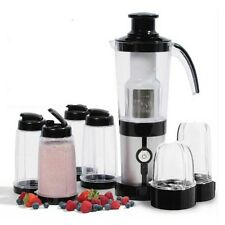 Home MINI BLENDER WITH 600ml BOTTLES Perfect for Fruit & Veggie Juices, & Sauces