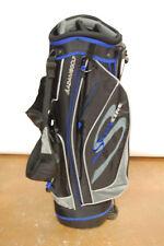 Adams Speedline Stand Golf Bag Mens Black/Grey/Blue 7 Way Divider