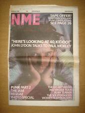 NME 1986 FEB 8 JOHN LYDON JAM GO-BETWEENERS RED WEDGE