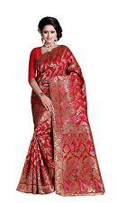 Pakistani Designer Bollywood Saree Indian kanchipuram TRADITIONAL silk sari