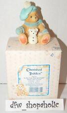 1993 Cherished Teddies 914754 Jack January Bear New Year Old Friends New Box Nib