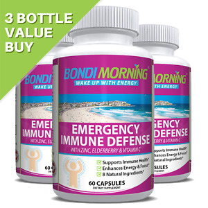 Emergency Immunity Support Vitamins Supplements, Vitamin C with Zinc Tablets +