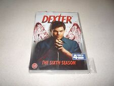 DEXTER : THE SIXTH SEASON DVD BOX SET 4 DISC BRAND NEW AND SEALED
