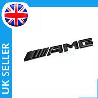 Auto Rear Emblem Car Boot Badge Black New Style AMG Logo For Mercedes All Models