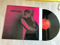 AVENGERS LP RARE ORIG VINYL KBD SF PUNK '77 1983 TRANS PURPLE VINYL cd007 germs!