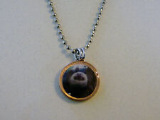 """Lucky Penny Pendant Hanging Upside Down Sloth Charm on 24"""" Chain Necklace"""
