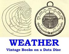 Weather 20 Vintage Books on a Data Disc Forecasting Lore Meteorology PDF files