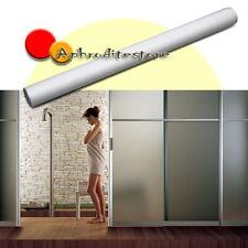 Rotolo Pellicola Effetto Opaca Adesivo per Finestre Vetro Bagno 300x60cm PVC
