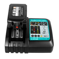 For Makita DC18RC BL1850 Lithium Battery & Charger Combo BL1820 BL1830 18V 6.0Ah