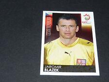 N°97 J. BLAZEK CESKA REPUBLIKA CESKO TCHEQUIE PANINI FOOTBALL UEFA EURO 2008