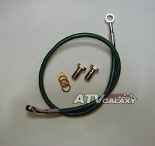 "3/"" FRONT BRAKE LINES LINE KIT ATV SMOKE YAMAHA BLASTER 200 2003-2006 STREAMLINE"