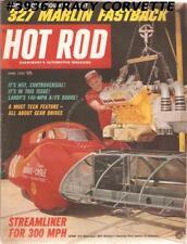 JUNE 1965 HOT ROD 327 MARLIN FASTBACK HRM Championship Drags Snoopy BILL BURKE