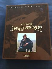 KEVIN COSTNER'S DANCING WITH WOLVES LIMITED COLLECTORS EDITION